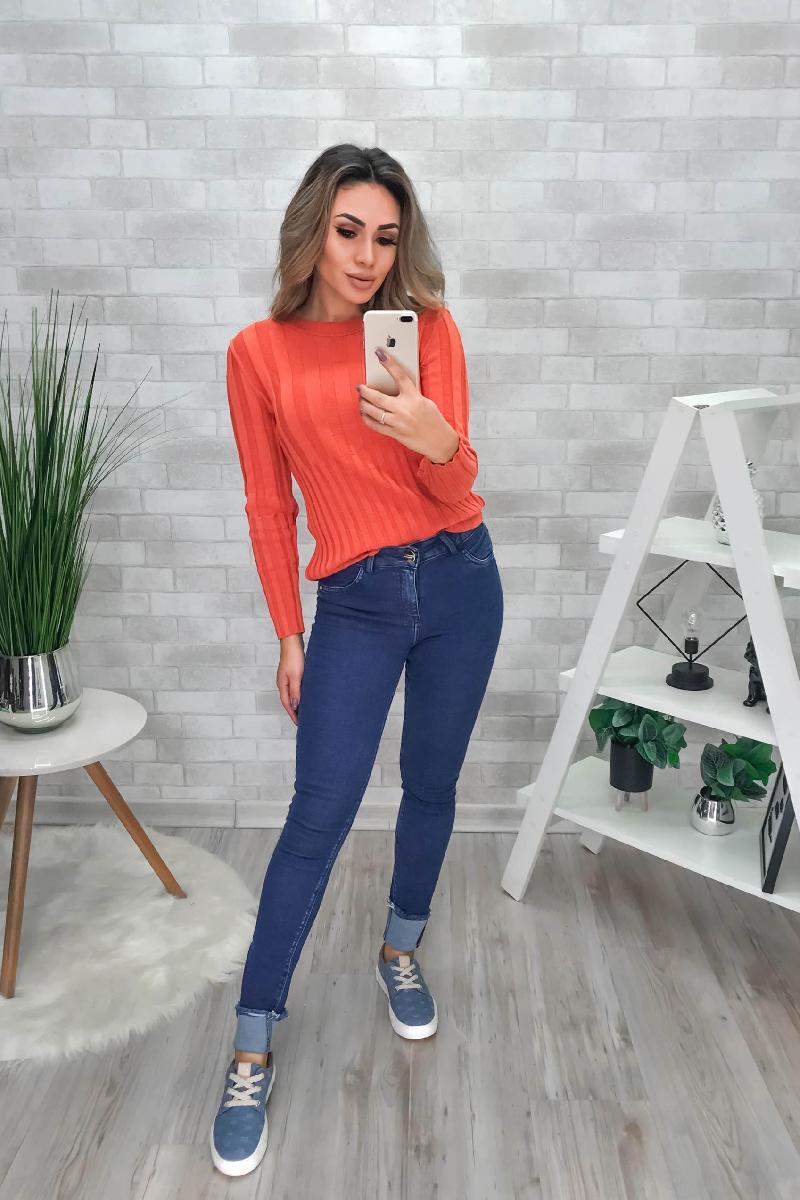 Foto do produto  Calca Fem. Teezz  Te20413 Jeans