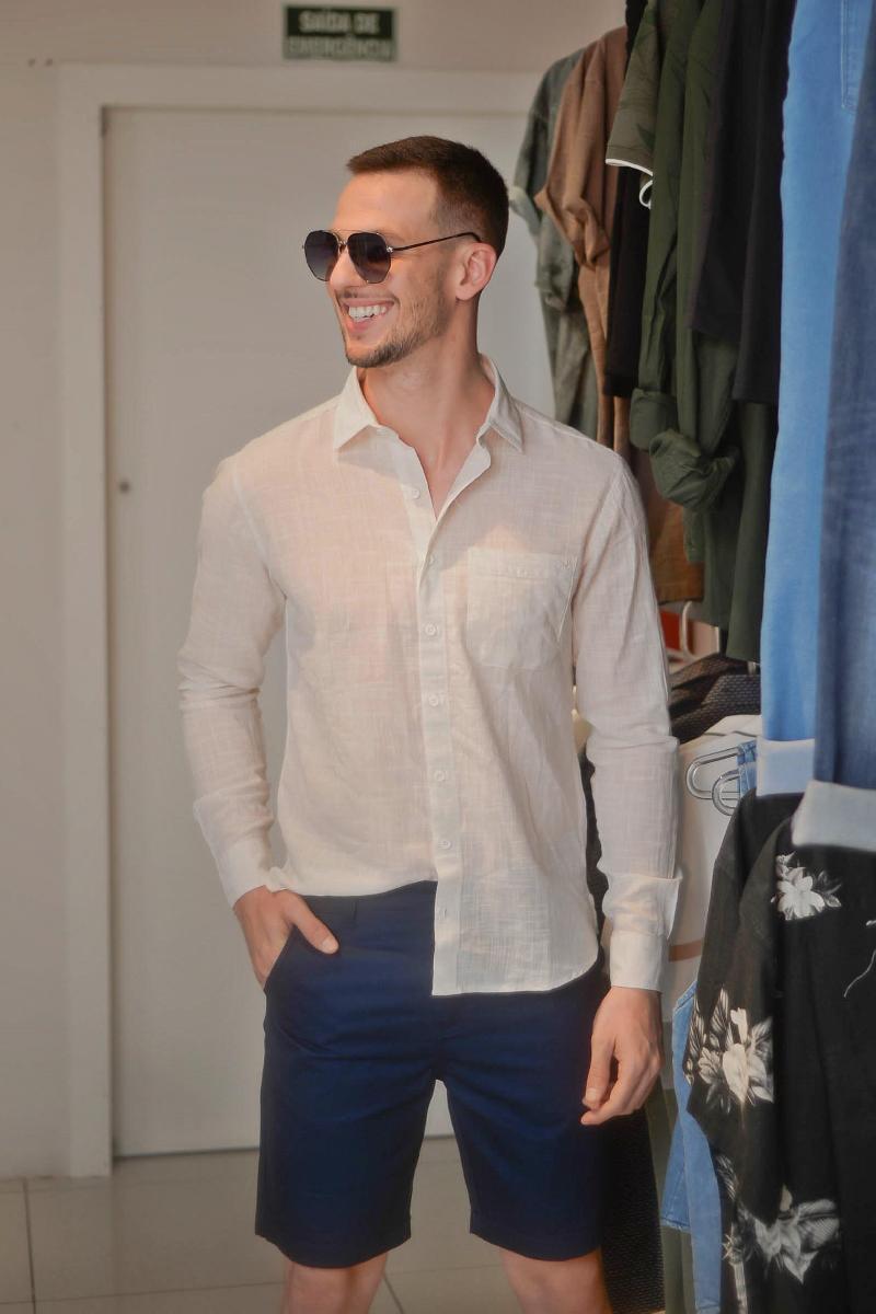 Foto do produto  Camisa Masc. Six One Off White