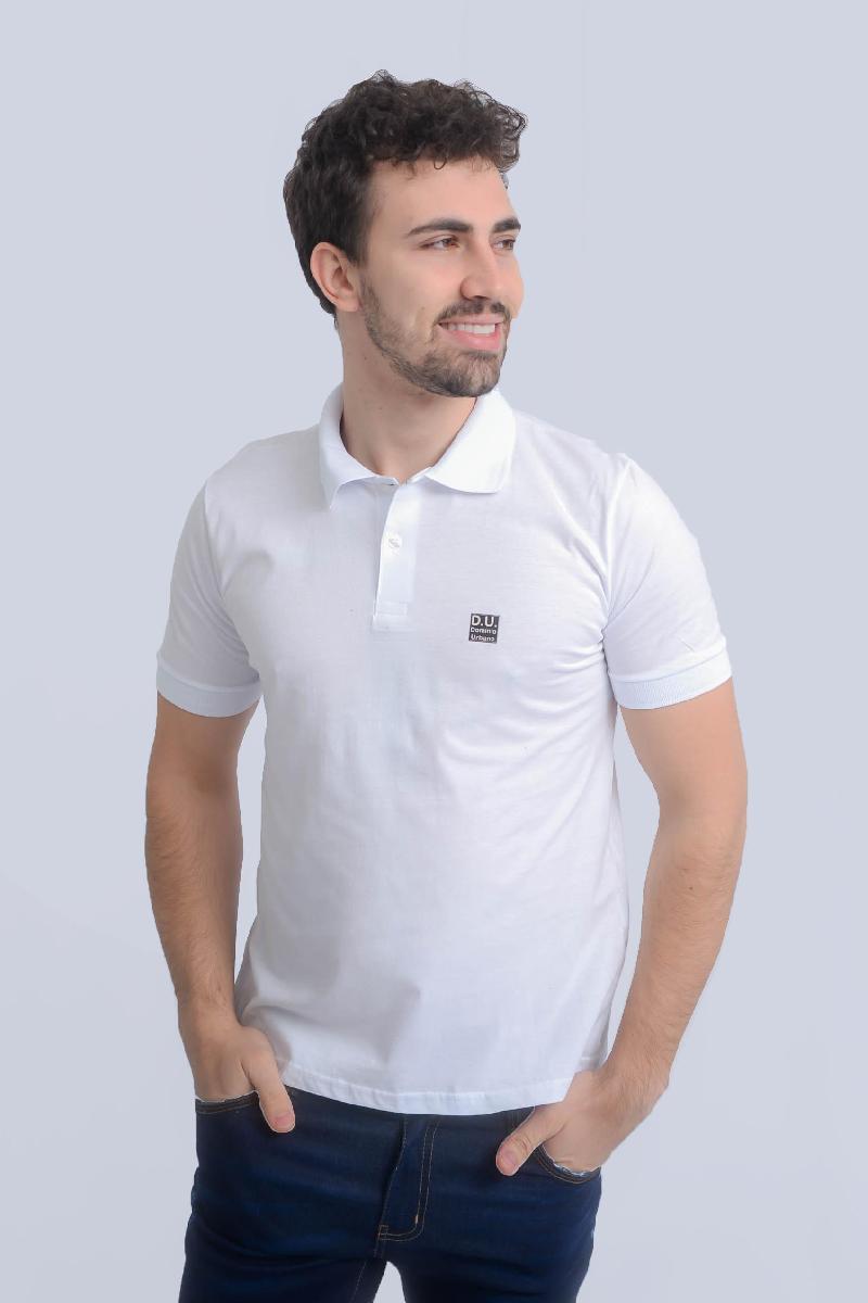 Foto do produto  Camisa Polo Dominio Urbano Branco