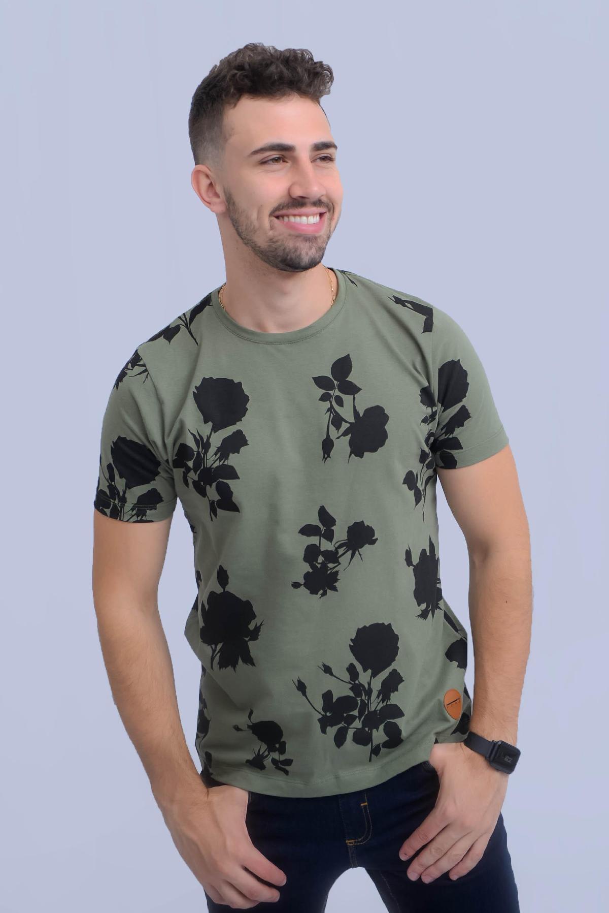 Foto do produto Camiseta Fors  200240 Verde Menta