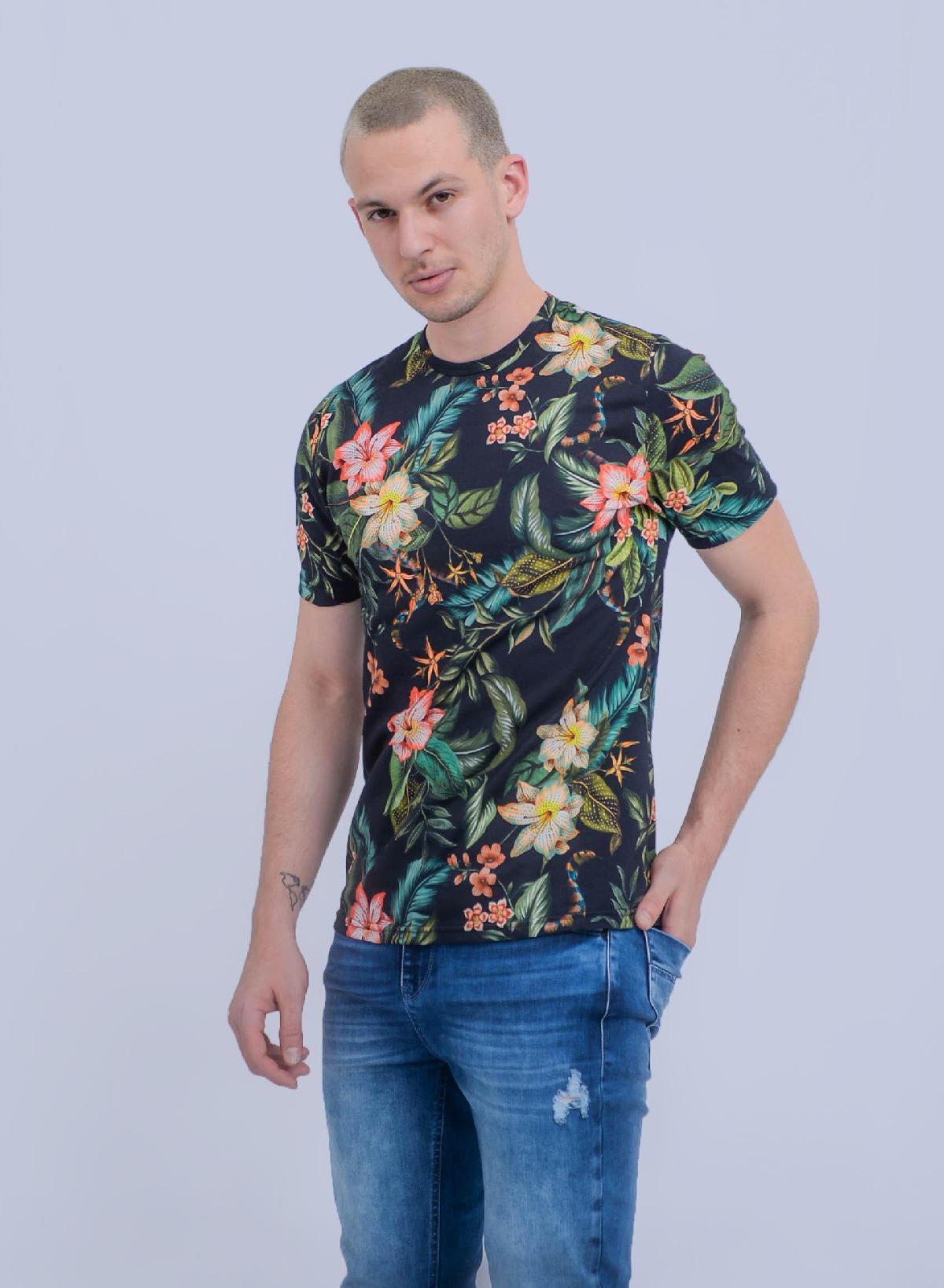 Foto do produto Camiseta Rovitex Preto