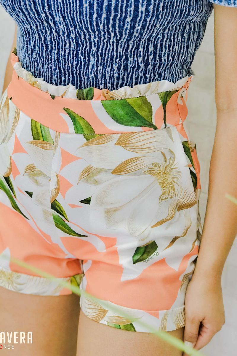 Foto do produto  Shorts Deliz Coral