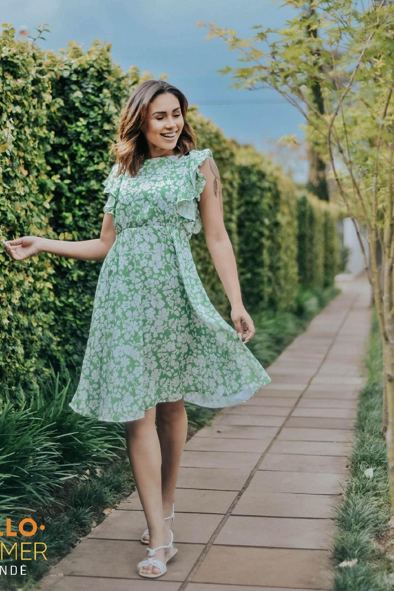 Foto do produto  Vestido Neon Blush Verde